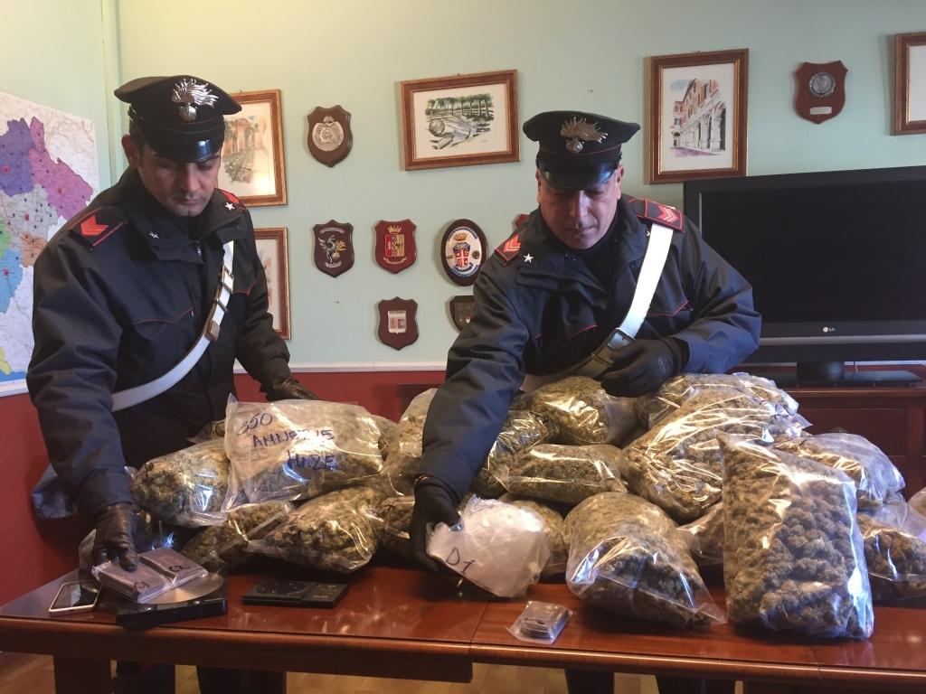 """Photo of Sottratti ai babbo natale spacciatori, 75 chili di droga da piazzare nel periodo natalizio. 33 le persone arrestate. Sequestrata anche la droga """"amnesia"""""""