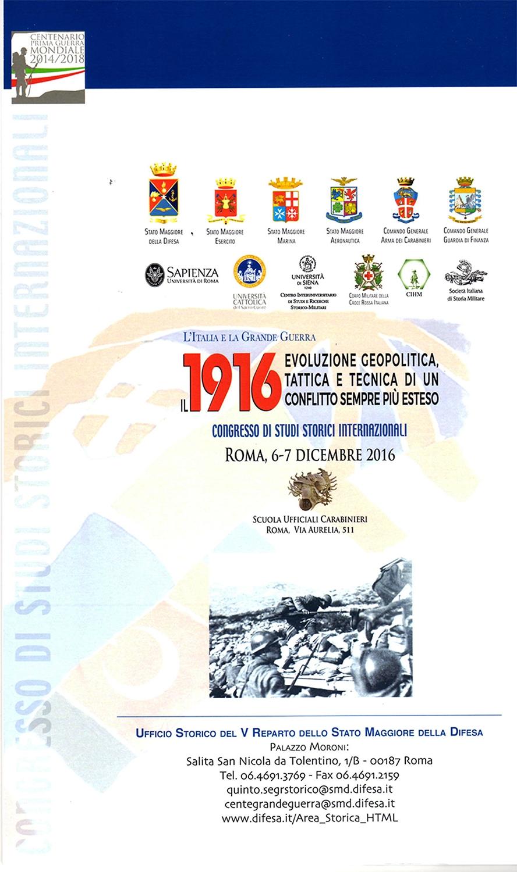 Photo of Centenario Prima Guerra – Congresso Studi Storici Internazionali – GALLERIA FOTOGRAFICA