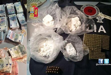 """Photo of Conclusa l'operazione """"Family Business"""".  Arrestate  4 persone, sequestrata cocaina e munizioni"""