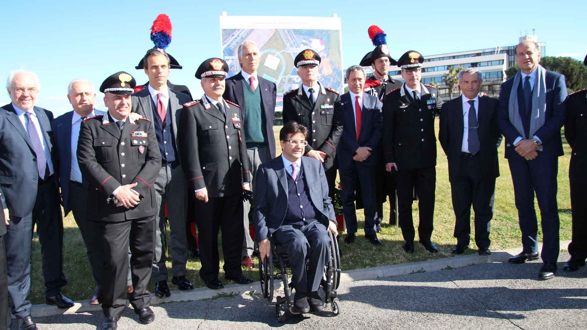 Photo of Inaugurata, alla presenza del presidente del Coni Malagò, la nuova sala scherma del Centro Sportivo Carabinieri – AMPIA GALLERIA FOTOGRAFICA