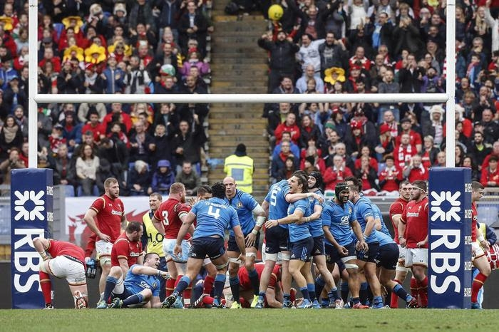 Photo of Rugby Six Nations 2017. L'italia battuta dal Galles per 33-7