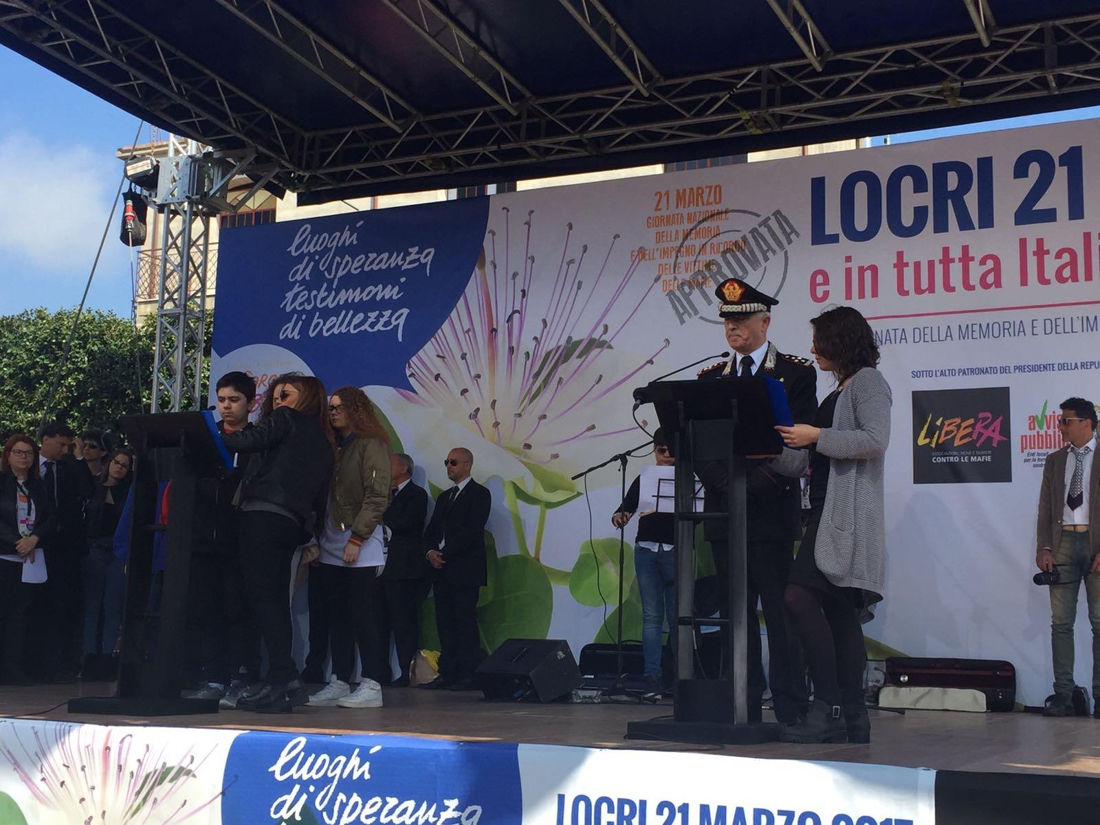 """Photo of Nella """"Giornata nazionale della memoria e dell'impegno in ricordo delle vittime delle mafie"""", Del Sette ricorda anche i Carabinieri  uccisi dalla mafia"""