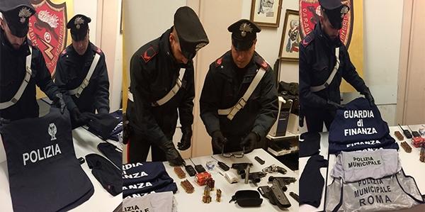 Photo of Arrestato a Roma, autore di rapina a Marigliano (Napoli) Scoperto arsenale e pettorine delle Forze di Polizia. Due arresti – VIDEO