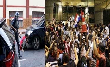 Photo of Il popolo fa sentire la sua voce. Dopo la Romania, anche in Paraguay, assalto e incendio al Parlamento. Morto un manifestante