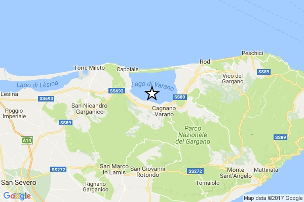 Photo of Terremoto nel lago di ML 4.0 nel lago di Varano (Foggia). Al momento, non ci sono danni