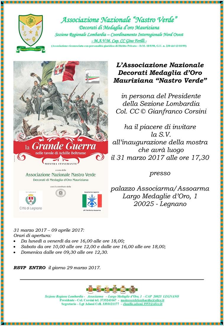 Photo of La  Grande Guerra ricordata a Legnano dalle Medaglie Mauriziane – GALLERIA FOTOGRAFICA INAUGURAZIONE