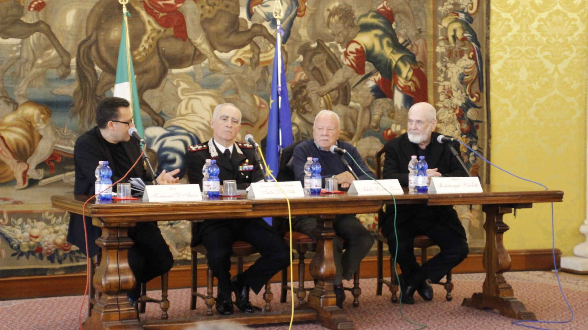 """Photo of Il libro """"Il Terzo Paradiso  – Caserma dei Carabinieri 'Salvo D'Acquisto'"""" presentato dal Maestro Michelangelo Pistoletto. AMPIA GALLERIA FOTOGRAFICA"""
