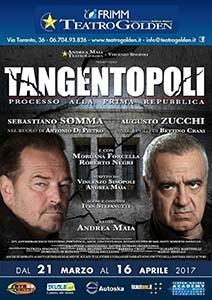 """Photo of Teatro Golden –  """"Tangentopoli"""" di Sinopoli e Maya con Sebastiano Somma e Augusto Zucchi"""