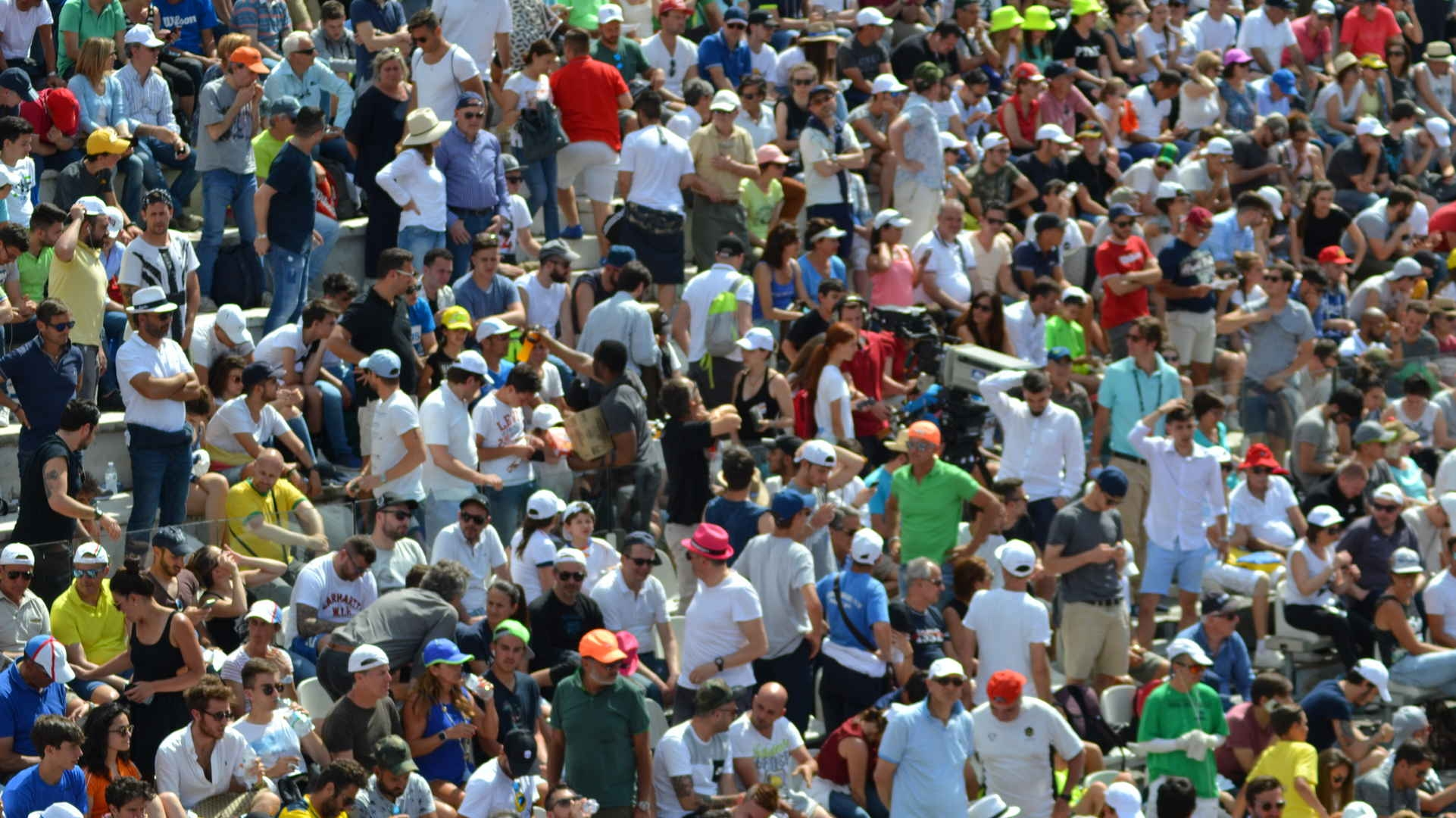 Photo of Tennis, Internazionali successo di pubblico – AMPIA GALLERIA FOTOGRAFICA