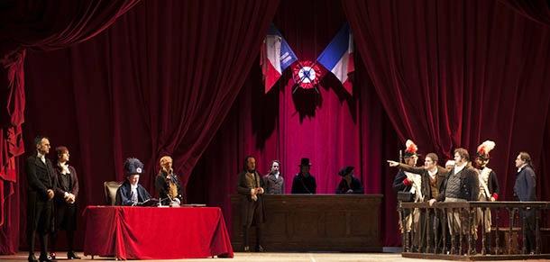 """Photo of Teatro Argentina – """"Morte di Danton"""" di  Georg Büchner con Giuseppe Battiston e Paolo Pierobon per la regia di  Mario Martone"""