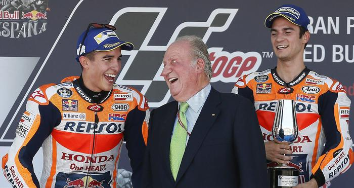 motogp spagna Juan Carlos marquez Pedrosa