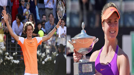 Photo of Tennis Internazionali d'Italia – Vincono Zverev e  Svitolina