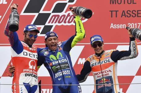 Photo of Motogp Olanda 2017 – Finalmente Rossi! Sul podio anche l'italiano Danilo Petrucci (Ducati) e Marc Marquez (Honda)