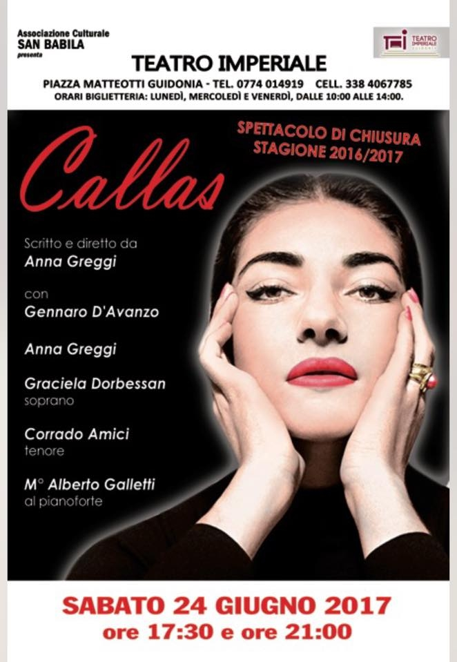 Photo of Al Teatro Imperiale di Guidonia, omaggio all'indimenticabile Maria Callas