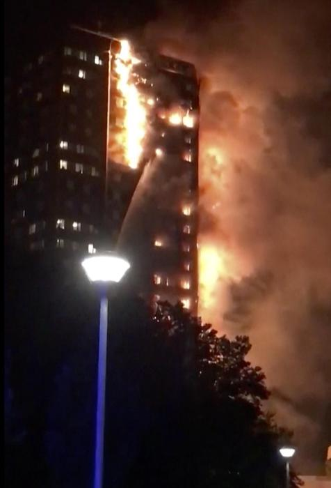 Photo of News – Londra: incendio a Grenfell Tower. In corso l'evacuazione. Pericolo di crollo. Diversi feriti