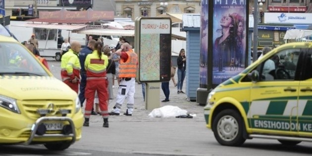 Photo of Flash – Il terrorismo è in Finlandia: sei persone accoltellate,  un morto. Ferito un terrorista