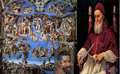 Photo of La storia di Papa Giulio II e di Michelangelo