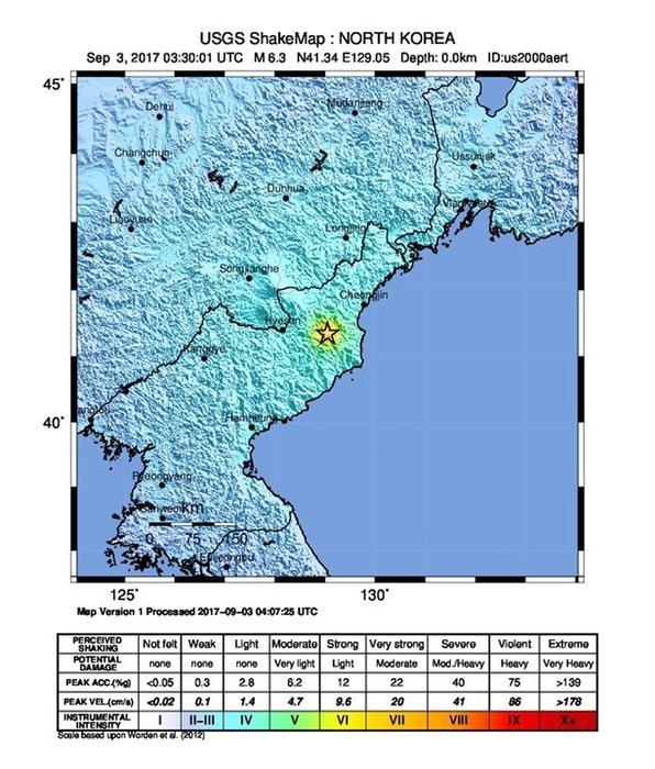 Photo of News – Corea Nord: forse sesto esperimento atomico con  sisma 6.3