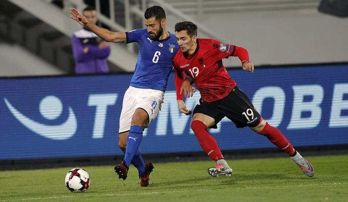 Photo of Mondiali 2018 – L'Italia di Ventura, in Albania vince e va ai sorteggi