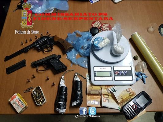 Photo of Trovato in possesso di armi e droga. Arrestato un romano 31enne