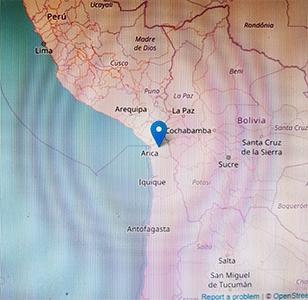 Photo of Flash  – Cile: terremoto magnitudo 6.2