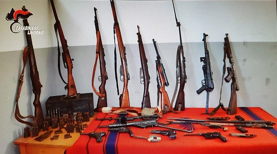 Photo of Scoperto un vero arsenale da guerra in cantina. Un arresto- VIDEO