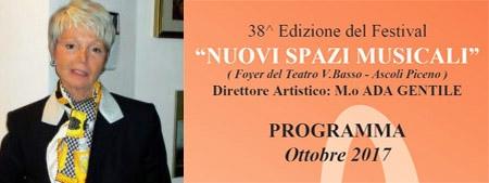 """Photo of Ascoli Piceno – 38° Edizione Festival """"Nuovi Spazi Musicali"""""""