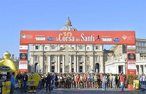 Photo of La Corsa dei Santi e il saluto del Santo Padre