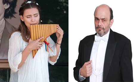 Photo of Con Amatrice nel cuore, il 5 dicembre  il  Maestro Zampieri accompagnerà la famosa virtuosa di Flauto di Pan, Andreea Chira