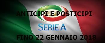 Photo of Serie A. Anticipi e posticipi fino al 22 gennaio
