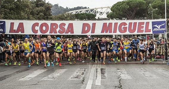 Photo of Corsa di Miguel: record assoluto di arrivati