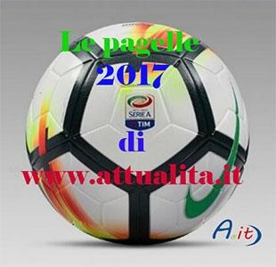 Photo of Le  pagelle della Serie A 2017 – Napoli, Atalanta ed Udinese a pieni voti