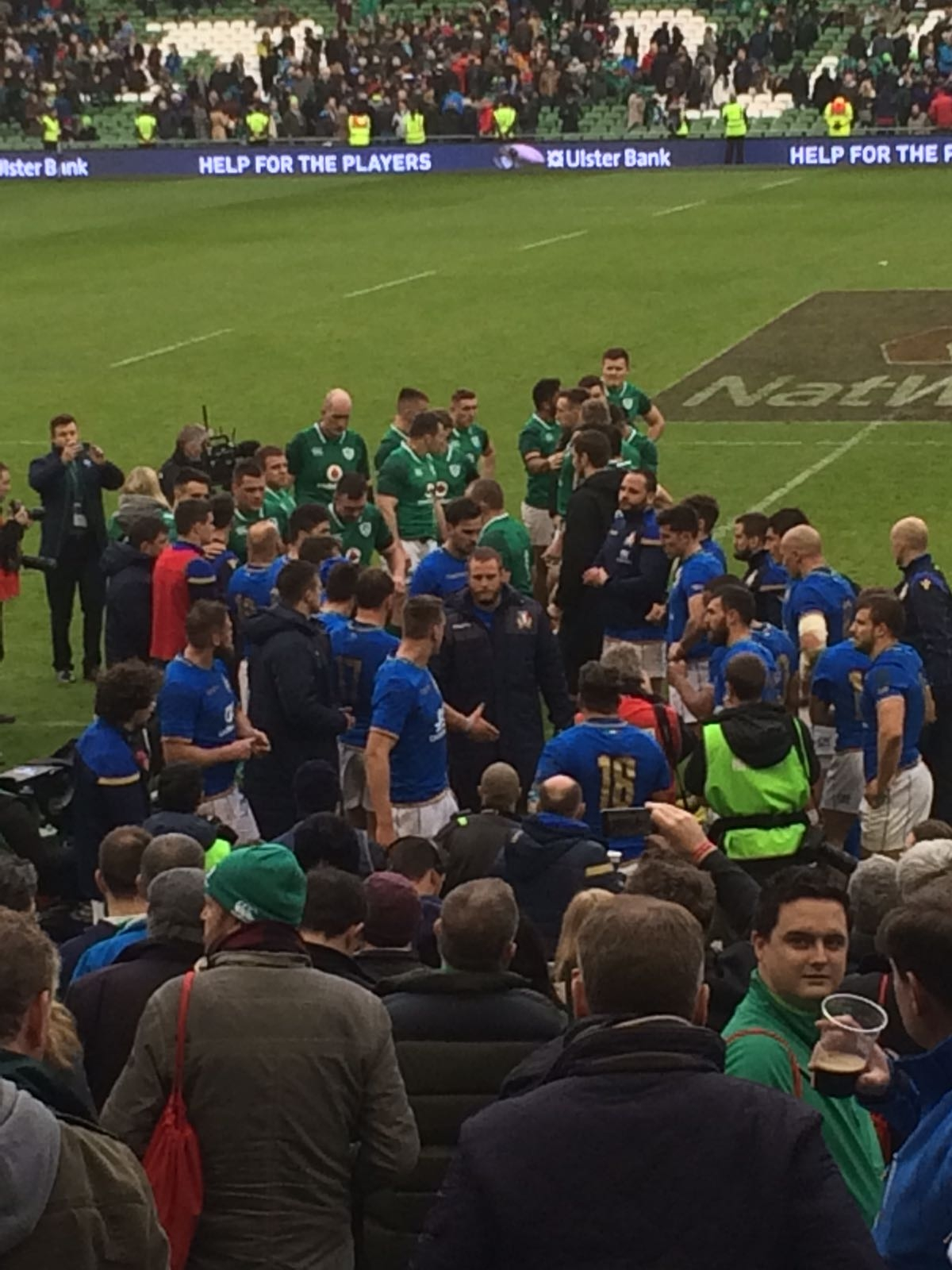 Photo of Rugby – 6 Nazioni – Irlanda- Italia 56-19