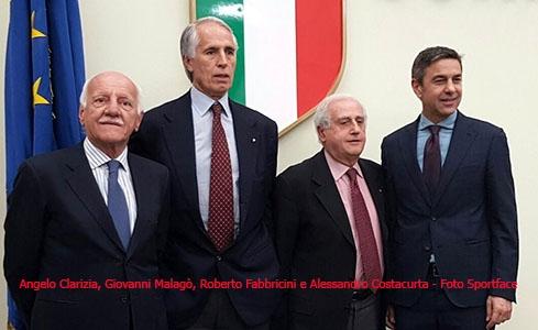 Photo of Calcio: Roberto Fabbricini è commissario straordinario della FGCI e Alessandro Costacurta a riformare l'area tecnica