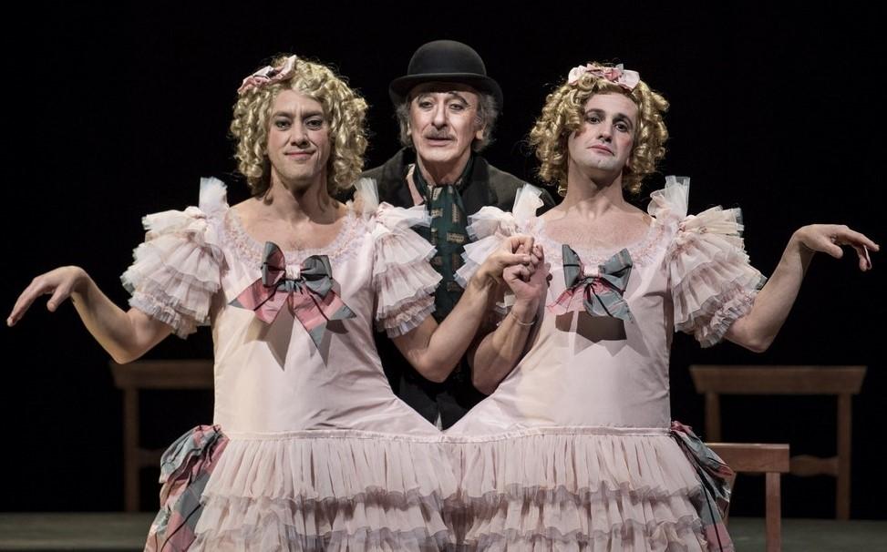 Photo of Teatro Eliseo – 'Eden Teatro' di Viviani per la regia di Arias con Mariano Riggillo e Gaia Aprea