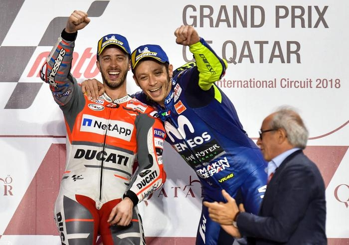 Photo of MotoGP – Qatar – Vince Dovizioso su Marques e Rossi