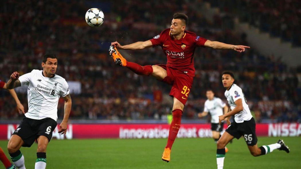 calcio-el shaarawy-Roma-Liverpool-2018