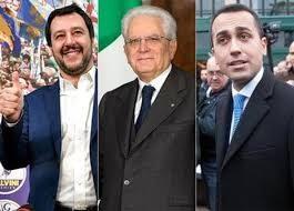 Salvini-Mattarella-Di Maio-2018