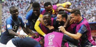 calcio Francia mondiali 2018