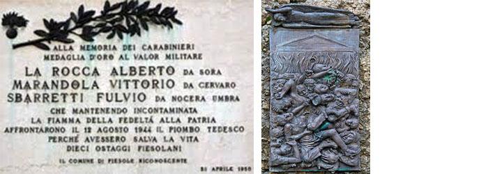 """Photo of 1944: eccidio nazifascista  di """"Sant'Anna di Stazzema"""" e sacrificio (ignorato) dei """"Martiri di Fiesole"""""""