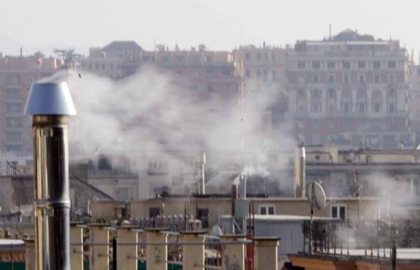 inquinamento da combustibile domestico