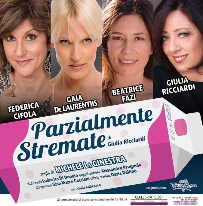 Photo of Teatro Golden – 'Parzialmente stremate' di Giulia Ricciardi con la regia di Michele La Ginestra