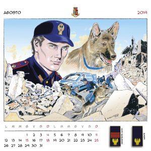 Calendario Polizia 2019 - (10)