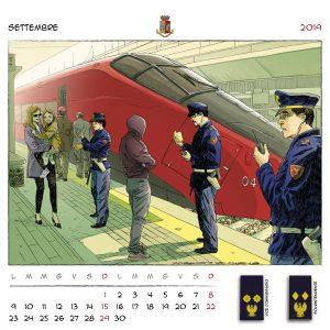 Calendario Polizia 2019 - (11)