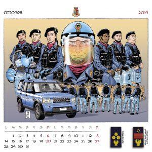 Calendario Polizia 2019 - (12)
