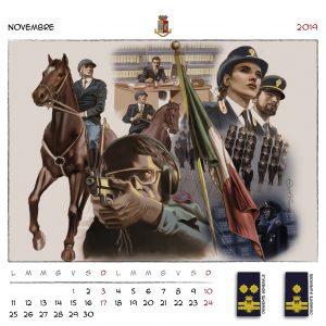 Calendario Polizia 2019 - (13)