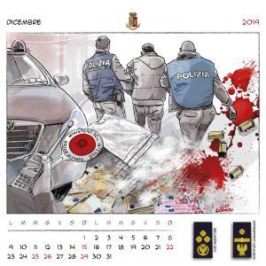 Calendario Polizia 2019 - (14)