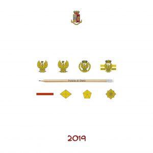 Calendario Polizia 2019 - (2-1)