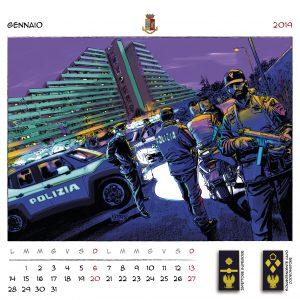 Calendario Polizia 2019 - (3)