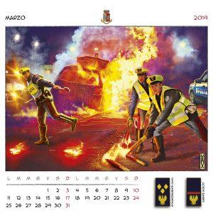 Calendario Polizia 2019 - (5)